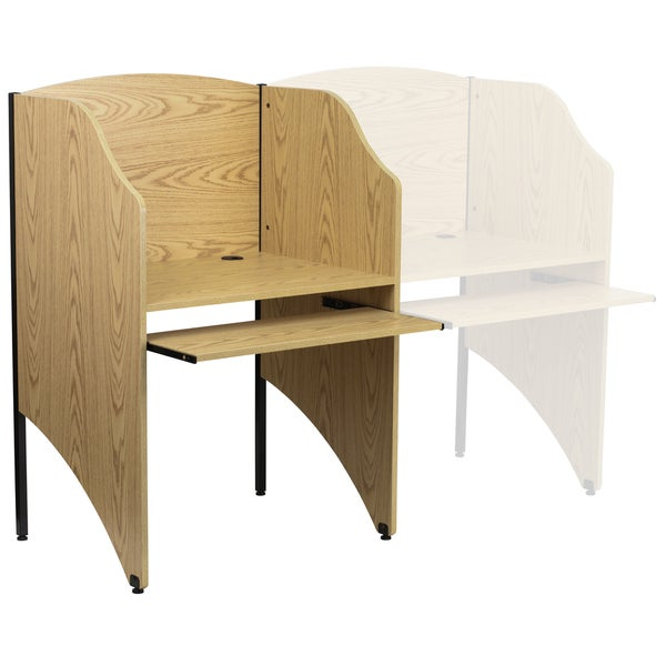 Starter Study Carrel in Nebula Finish