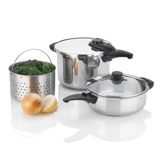 Fagor Innova Pressure Cooker Set with 4 and 8 qt Pots