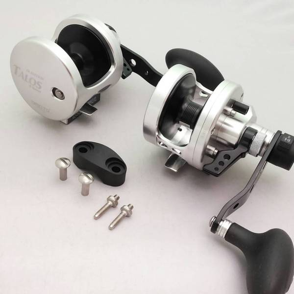 Omoto Talos TS12II Fishing Jigging 25# Drag Wide Reel 2-Speed Ocean/Fresh yellowtail bass tuna 16404591