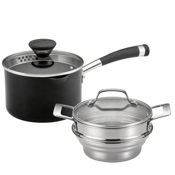 Circulon(r) Acclaim Nonstick 2-Quart Straining Steamer Set
