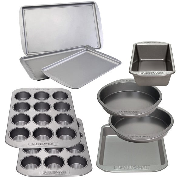 Farberware(r) Nonstick Bakeware 9-Piece Ultimate Baking Pan Set