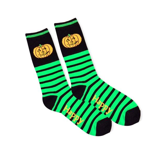 Halloween Fun Socks Womens Crew Knee High Sock Single Pair (11240-PO7A)