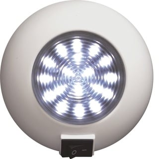SeaSense Surface Mount 18 LED Super Bright Light, White