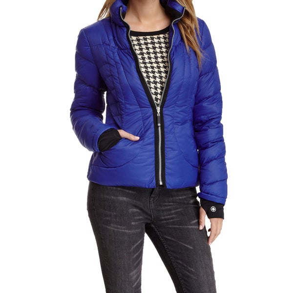 Halifax Traders Royal Blue Down Puffer Packable Jacket Coat