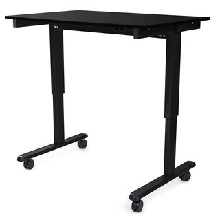 "Luxor STANDE-48-BK/BO Stand Up 48"" Electric Desk"
