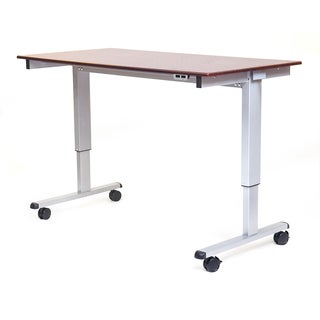 "Luxor STANDE-60-AG/DW Stand Up 60"" Electric Desk"