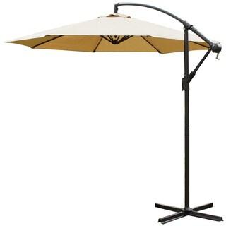 Adeco 10-foot Aluminum/Polyester Patio Umbrella (Base Included)