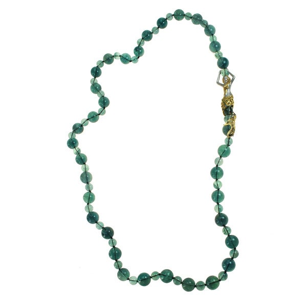 Michael Valitutti Flourite Mermaid Necklace