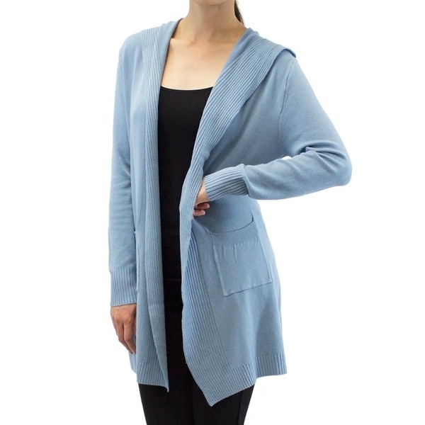 Bay Hooded Duster Cardigan