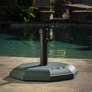 Christopher Knight Home 66-pounds Octagonal Dark Concrete Umbrella Base