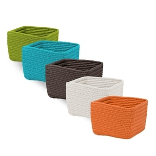 Braided Cube Flexible Basket