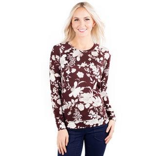 DownEast Basics Women's Fall Bouquet Top