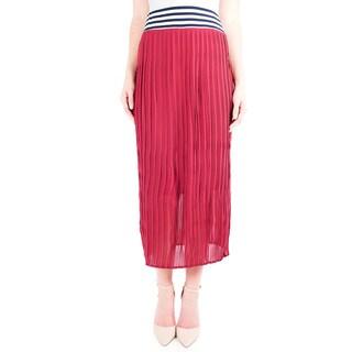 DownEast Basics Women's Stripe Harvest Skirt