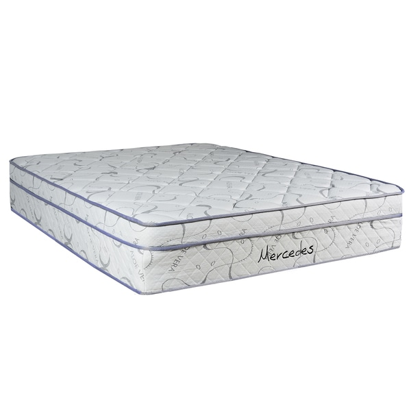 Spring Coil Mercedes Euro Top Full-size Mattress