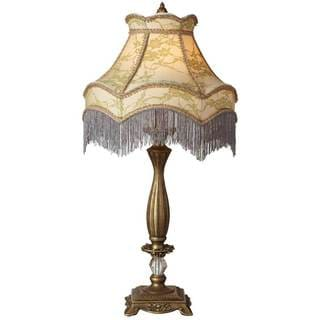 Downton Abbey Ladies of Downton Collection 30-inch Lace Fringe Table Lamp