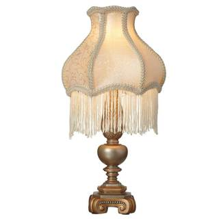 Downtown Abbey Ladies of Downtown Collection Fringe Accent Lamp