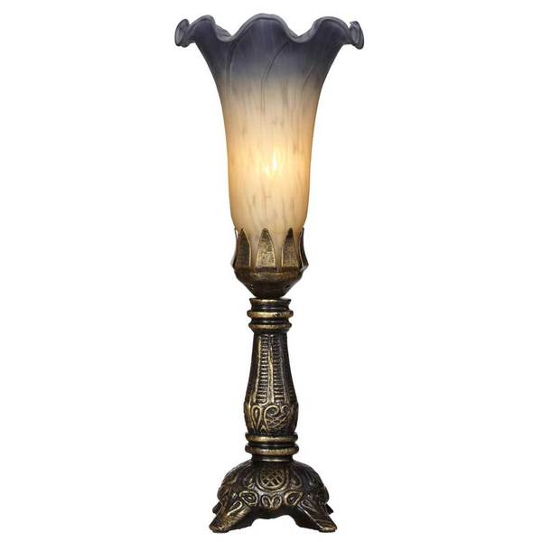 Downton Abbey Antique Finish Single Lily Accent Lamp
