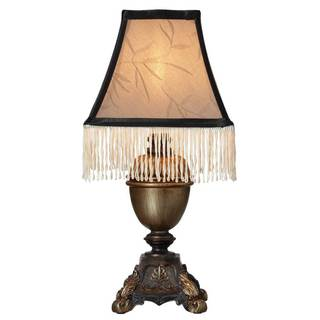 Downton Abbey Downstairs Collection Fringe Accent Lamp