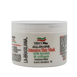 La-Brasiliana Dieci Plus All-in-One 8.44-ounce Intensive Hair Mask
