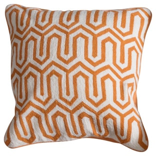 Powell Down and Feather Filled 20-inch Throw Pillow