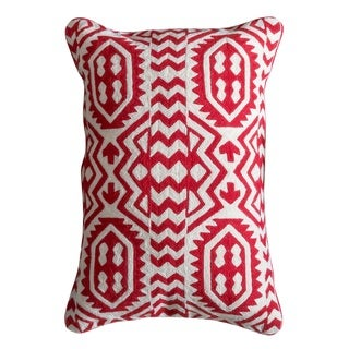Clifton Down and Feather Filled Throw Pillow