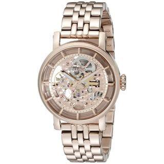 Fossil Women's ME3065 'Original Boyfriend' Automatic Rose-Tone Stainless Steel Watch