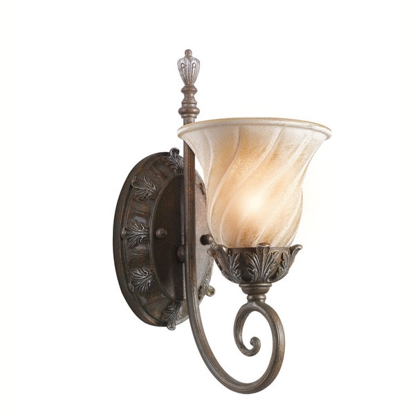 Kichler Lighting Sarabella Collection 1-light Legacy Bronze Wall Sconce