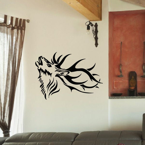 Deer Hunting Trophy Vinyl Wall Art Decal Sticker