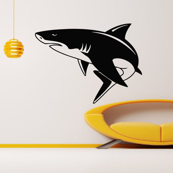 Shark Sea Creature Vinyl Wall Art Decal Sticker