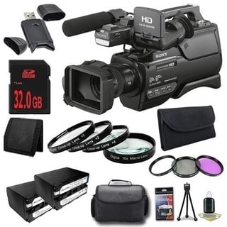 Sony HXR-MC2500 Camcorder 32GB Bundle