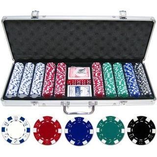 500-piece 11.5-gram Dice Poker Chip Set