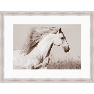 Yarrow Rectangular Framed Horse Photography-(38 x 50)
