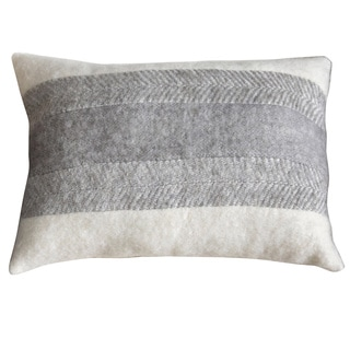 Leon Down and Feather Filled Throw Pillow