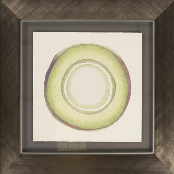 """Geometric Felder Square Framed Print 29"""" x 29"""""""