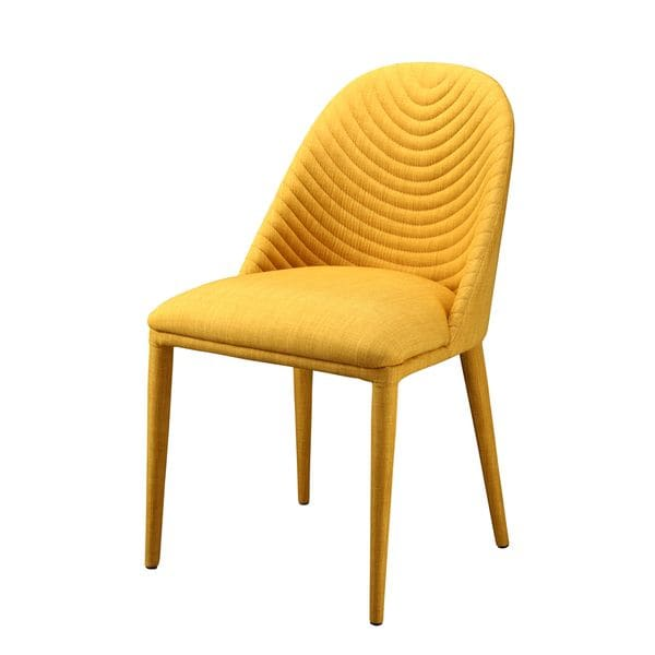 SB Aurelle Home Druid Dining Chair Yellow