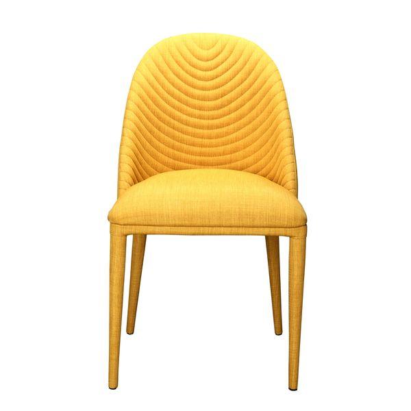 SB Aurelle Home Druid Dining Chair Yellow
