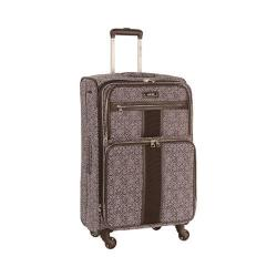 Nine West Naia Plum/Lilac 24-inch Expandable Spinner Upright Suitcase