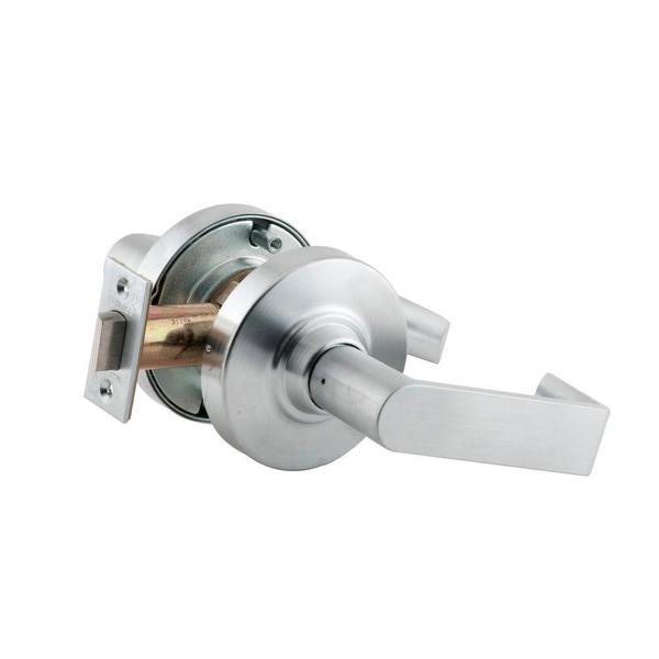 Schlage Rhodes Satin Chrome Commercial Passage Lever