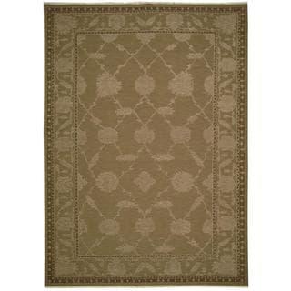 Nourison Silk Pointe Brown Rug (8'10 x 11'10)