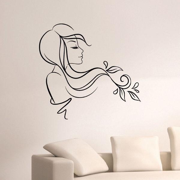 Beauty Hair Salon Decor Vinyl Wall Art Decal Sticker 16410416