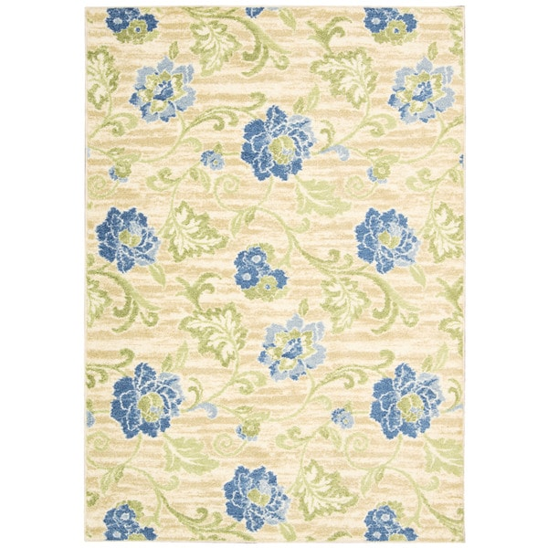 Waverly by Nourison Aura of Flora Capri Rug (4'4 x 6'10)