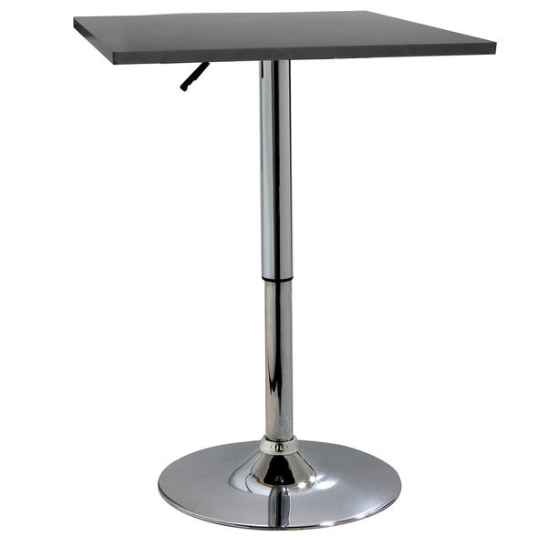 AmeriHome Classic Wood Square Top Bistro Table