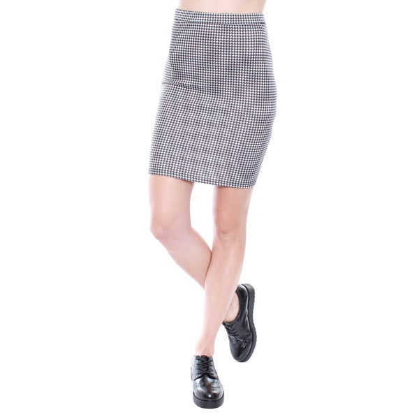 Junior's Bodycon Midi Skirt 67638