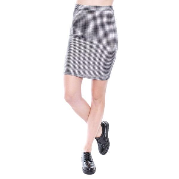 Junior's Bodycon Midi Skirt 67638