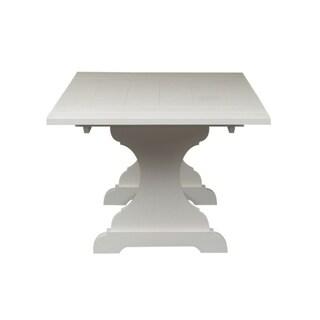 Cottage Harbor White Trestle Dinette Table