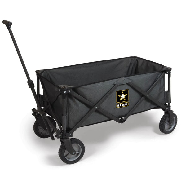 Picnic Time Adventure Wagon - Dk Grey/Black (U.S. Army)