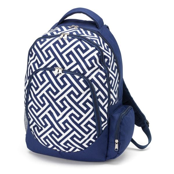 Greek Key Backpack