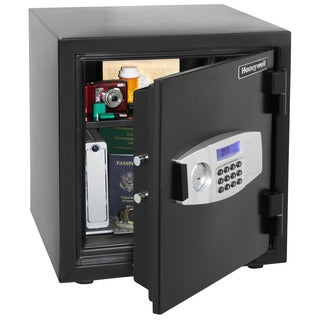 Honeywell 1.24 Cubic Foot Water Resistant Steel Fire and Security Safe