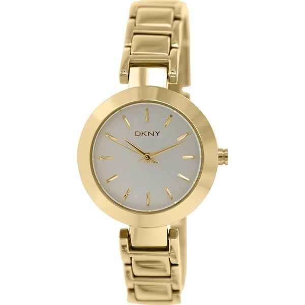 DKNY Women's Stanhope NY2253 Goldtone Stainless Steel Quartz Watch