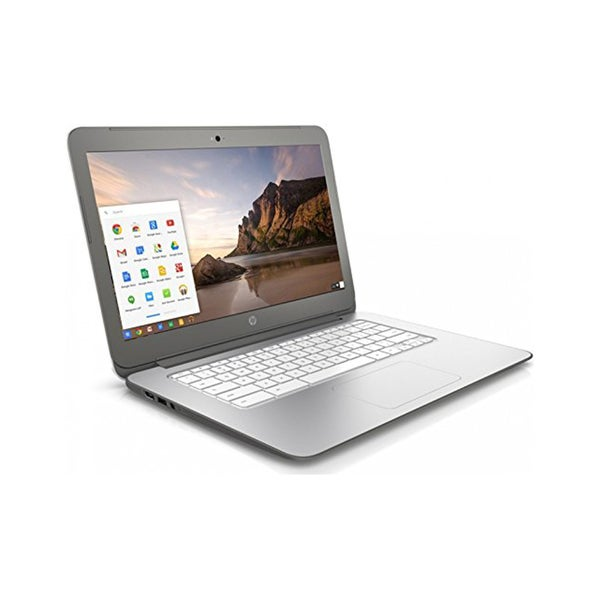 HP 14-x010nr 14-Inch WLED HD Display, 16GB eMMC Chromebook (Snow White) - Refurbished
